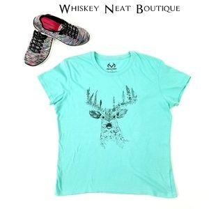 RealTree Deer Graphic T_Shirt